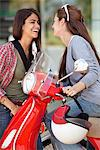 Close-up of two female friends enjoying together Stock Photo - Premium Royalty-Free, Artist: Susan Findlay, Code: 6108-05872164