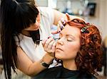 Make-up situation in a Beauty spa Stock Photo - Royalty-Free, Artist: gemenacom                     , Code: 400-05876553