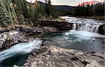 Sheep River Falls Allberta Canada morning sunrise Stock Photo - Royalty-Free, Artist: pictureguy                    , Code: 400-05880048