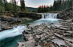 Sheep River Falls Allberta Canada morning sunrise Stock Photo - Royalty-Free, Artist: pictureguy                    , Code: 400-05880049