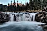 Sheep River Falls Allberta Canada morning sunrise Stock Photo - Royalty-Free, Artist: pictureguy                    , Code: 400-05880054