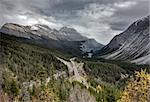 Scenic View Rocky mountains Alberta Canada Jasper Highway Stock Photo - Royalty-Free, Artist: pictureguy                    , Code: 400-05880066