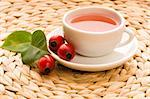 rose hip tea Stock Photo - Royalty-Free, Artist: joannawnuk                    , Code: 400-05880225
