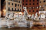 Fountain with Ancient Roman Statues in Rome, Italy Stock Photo - Royalty-Free, Artist: derejeb                       , Code: 400-05884241