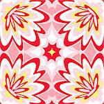 Seamless burst flower power interior pattern Stock Photo - Royalty-Free, Artist: sahua                         , Code: 400-05884780