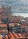 Portugal. Porto. Aerial view over the city Portugal. Porto. Aerial view over the city Stock Photo - Royalty-Free, Artist: oxanatravel                   , Code: 400-05886282