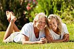 Lifestyle portrait of a happy young couple outdoors. Stock Photo - Royalty-Free, Artist: hannamonika                   , Code: 400-05887041