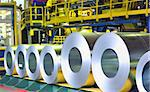 rolls of zinc steel sheet Stock Photo - Royalty-Free, Artist: jordache                      , Code: 400-05889227
