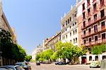 street view at sunny day at Madrid, Spain Stock Photo - Royalty-Free, Artist: sergey_peterman               , Code: 400-05890256