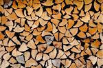 stacked firewood Stock Photo - Royalty-Free, Artist: ckkeller                      , Code: 400-05892233