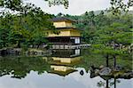 Kinkakuji Temple or The Golden Pavilion in Kyoto - Japan Stock Photo - Royalty-Free, Artist: Arrxxx                        , Code: 400-05893996