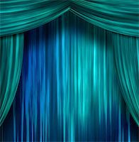 rolffimages (artist) - Theater Curtains Stock Photo - Royalty-Freenull, Code: 400-05895925