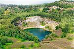 Volcanic lake Ata Mbupu . National park Kelimutu. Stock Photo - Royalty-Free, Artist: GoodOlga                      , Code: 400-05896888