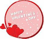 Valentine's day vector background Stock Photo - Royalty-Free, Artist: spaxiax                       , Code: 400-05897211