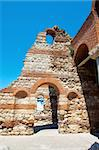 The remains of the church Joana Aliturgetosa (unholy). Bulgaria. Nessebar. Stock Photo - Royalty-Free, Artist: Stavrida                      , Code: 400-05898373