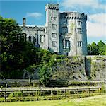 Kilkenny Castle, County Kilkenny, Ireland Stock Photo - Royalty-Free, Artist: phbcz                         , Code: 400-05899185