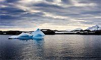 Antarctic iceberg in the snow Stock Photo - Royalty-Freenull, Code: 400-05899519