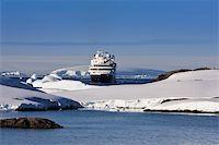Big cruise ship in Antarctic waters Stock Photo - Royalty-Freenull, Code: 400-05899623