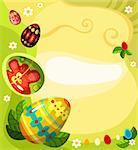 vector illustration of a easter card Stock Photo - Royalty-Free, Artist: nem4a                         , Code: 400-05900126