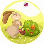 vector illustration of a easter card Stock Photo - Royalty-Free, Artist: nem4a                         , Code: 400-05900128