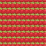 Vector seamless pattern of  many big strawberry Stock Photo - Royalty-Free, Artist: Irinavk                       , Code: 400-05901537