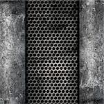 Grunge style background of metal and concrete Stock Photo - Royalty-Free, Artist: kirstypargeter                , Code: 400-05901978