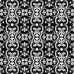 Beautiful background of seamless floral pattern Stock Photo - Royalty-Free, Artist: inbj                          , Code: 400-05902064