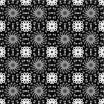 Beautiful background of seamless floral pattern Stock Photo - Royalty-Free, Artist: inbj                          , Code: 400-05902200