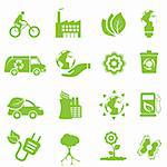 Ecology and environment icon set Stock Photo - Royalty-Free, Artist: soleilc                       , Code: 400-05902310