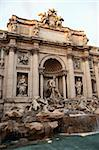 The Famous Trevi Fountain In Rome, Italy Stock Photo - Royalty-Free, Artist: kvkirillov                    , Code: 400-05902470