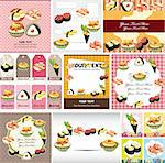 Japanese food menu card Stock Photo - Royalty-Free, Artist: notkoo2008                    , Code: 400-05902474