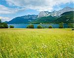 Beautiful summer Alpine  lake Grundlsee view (Austria) Stock Photo - Royalty-Free, Artist: Yuriy                         , Code: 400-05903981
