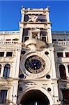 Famous Clock Tower at St. Mark's Square. Venice, Italy Stock Photo - Royalty-Free, Artist: kvkirillov                    , Code: 400-05904760