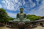 The Great Buddha (Daibutsu) on the grounds of Kotokuin Temple in Kamakura, Japan. Stock Photo - Royalty-Free, Artist: sepavo                        , Code: 400-05905115