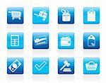 Online shop icons - vector  icon set Stock Photo - Royalty-Free, Artist: stoyanh                       , Code: 400-05905590