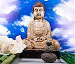 Buddha background Stock Photo - Royalty-Free, Artist: JanPietruszka                 , Code: 400-05906583