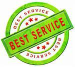 best service icon helpdest fast help quality support red text on green button isolated on white Stock Photo - Royalty-Free, Artist: kikkerdirk                    , Code: 400-05907619
