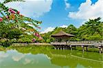 Beautiful wooden gazebo over the lake in Nara city, Japan. Stock Photo - Royalty-Free, Artist: Fyletto                       , Code: 400-05908082