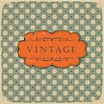 Polka dot design, vintage styled background. Stock Photo - Royalty-Free, Artist: pashabo                       , Code: 400-05908502