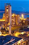 Cement Plant,Concrete or cement factory, heavy industry or construction industry. Stock Photo - Royalty-Free, Artist: cozyta                        , Code: 400-05908953