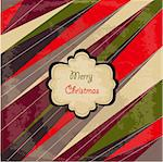 Merry Christmas card Stock Photo - Royalty-Free, Artist: lemony                        , Code: 400-05912196