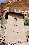 Granaries in a Dogon village, Mali (Africa).  The Dogon are best known for their mythology, their mask dances, wooden sculpture and their architecture. Stock Photo - Royalty-Free, Artist: michelealfieri                , Code: 400-05915070