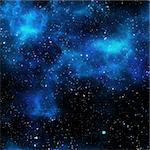 bright nebula gas cloud in deep outer space Stock Photo - Royalty-Free, Artist: clearviewstock                , Code: 400-05915303