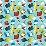 Cartoon school icons seamless pattern   Stock Photo - Royalty-Free, Artist: notkoo2008                    , Code: 400-05915332