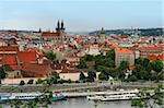 view on the Prague, Czech republic