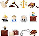 law icons   Stock Photo - Royalty-Free, Artist: notkoo2008                    , Code: 400-05919402