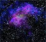 bright nebula gas cloud in deep outer space Stock Photo - Royalty-Free, Artist: clearviewstock                , Code: 400-05920078