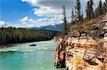 river in the valley Canadian Rocky Mountains Stock Photo - Royalty-Free, Artist: irisphoto                     , Code: 400-05920139