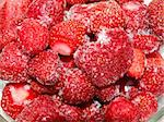 Images of frozen strawberries with detailed ice crystals Stock Photo - Royalty-Free, Artist: Sasha84                       , Code: 400-05920722