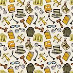 law seamless pattern Stock Photo - Royalty-Free, Artist: notkoo2008                    , Code: 400-05922887
